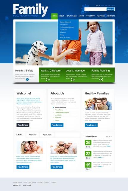 Website template 57241