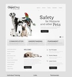 57255 Animals & Pets, Clean Style PSD Templates