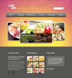 57274 Food & Drink, Clean Style PSD Templates