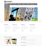 57278 Industrial, Most Popular PSD Templates