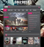 57303 Games PSD Templates