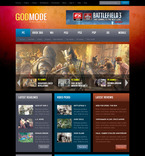 57364 Games PSD Templates