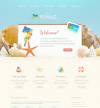 57383 Travel PSD Templates
