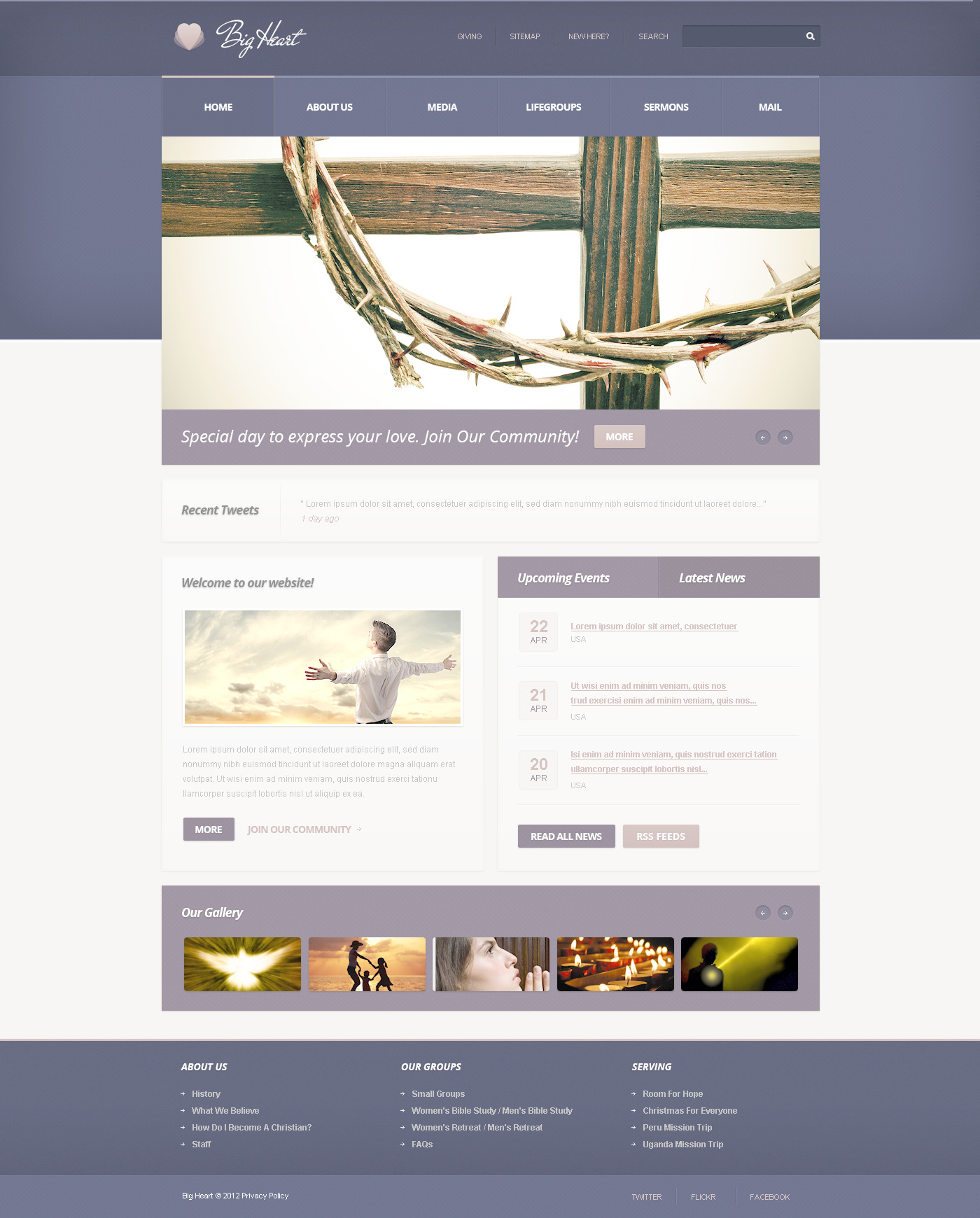 Website template 57437