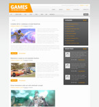 57454 Games PSD Templates