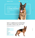 57575 Animals & Pets Website Templates