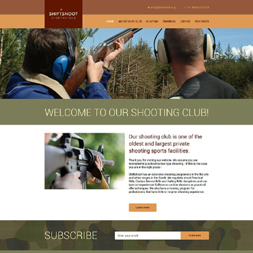 HTML/CSS Template #57665