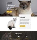 57676 Animals & Pets, Most Popular Landing Page Templates