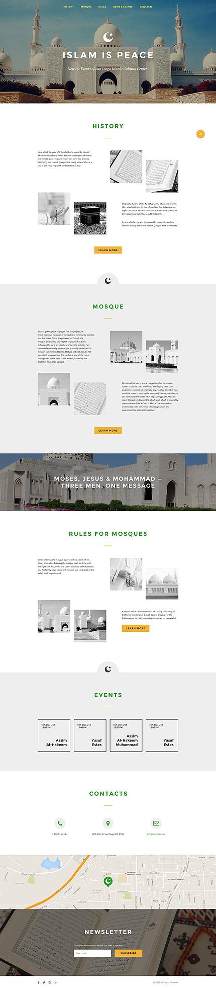 Website template 57706