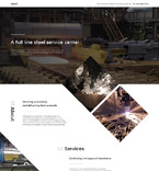 57716 Industrial, Most Popular Landing Page Templates