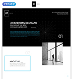 Landing Page Template #57785
