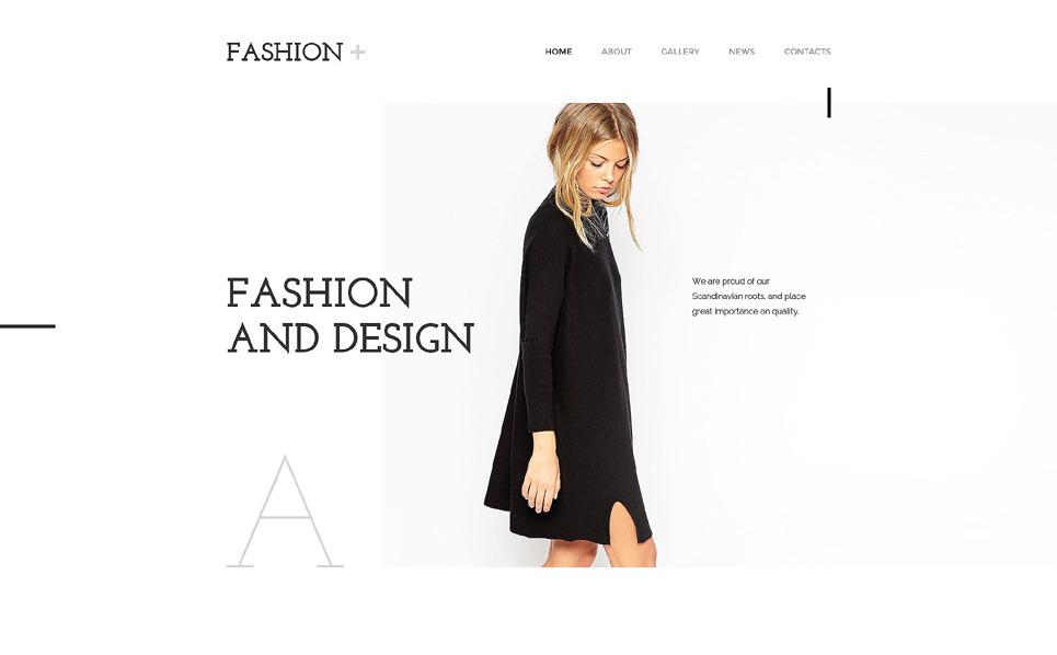 Fashion Website Template