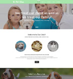 57828 Animals & Pets Website Templates