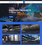 57852 Industrial Website Templates