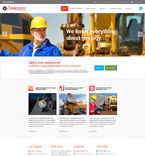 57893 Industrial Website Templates