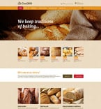 57941 Food & Drink, Most Popular Website Templates