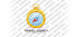 Travel Agency Logo Template vlogo