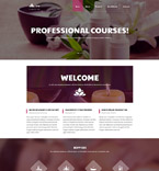 58076 Beauty Website Templates