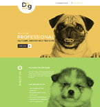 58095 Animals & Pets Landing Page Templates