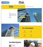 Landing Page Template #58128