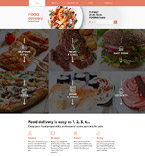 58276 Food & Drink Website Templates