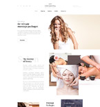 58327 Beauty Website Templates
