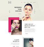 58329 Beauty Website Templates
