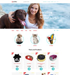 58332 Animals & Pets OpenCart Templates