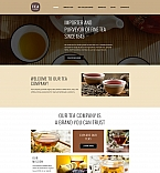 58353 Food & Drink, Last Added Moto CMS 3 Templates