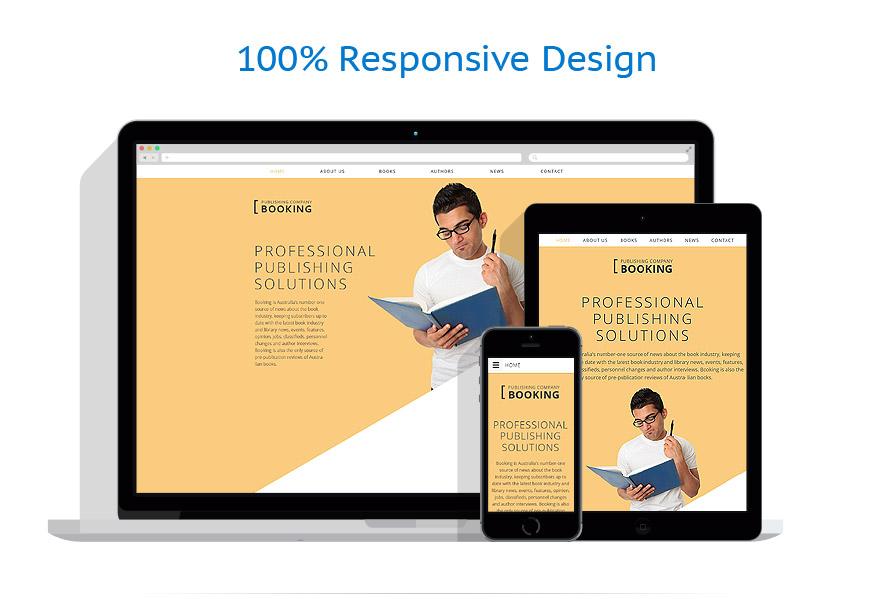 Modello siti web per un sito di casa editrice for Siti web della casa