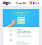 58374 Business Landing Page Templates