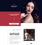 58406 Beauty Landing Page Templates