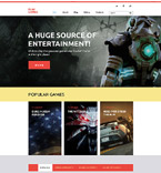 58412 Games WordPress Themes