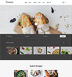 58456 Food & Drink, Last Added Website Templates