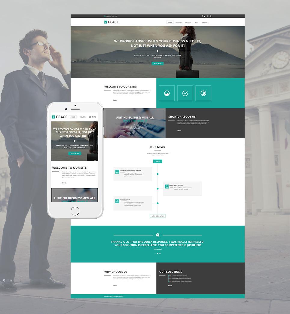 MotoCMS HTML Vorlage #58477 aus der Kategorie Business - image