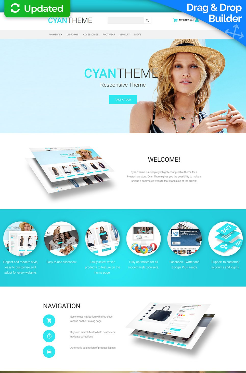Fashion Responsive Ecommerce Template #58485 - image