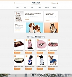 58489 Animals & Pets MotoCMS Ecommerce Templates