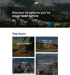 58502 Travel Website Templates