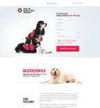 58514 Animals & Pets Landing Page Templates