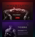 58521 Sport, Most Popular Landing Page Templates