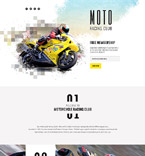 58525 Sport Landing Page Templates
