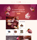 58576 Food & Drink OpenCart Templates