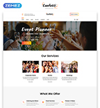 58586 Food & Drink Website Templates