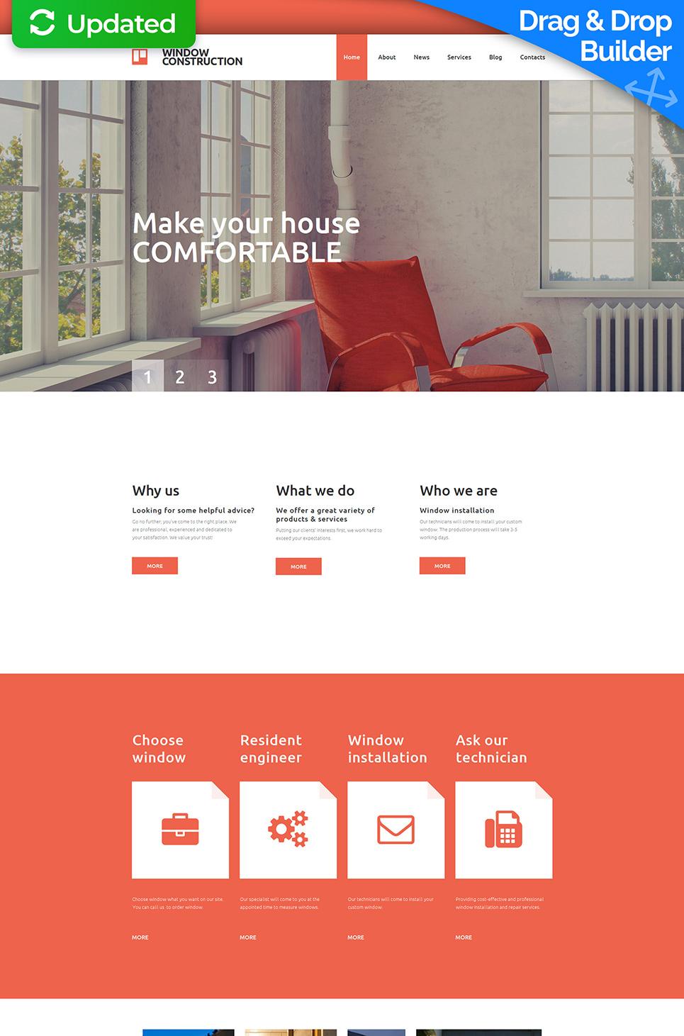 Website für Designfirma