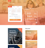58642 Travel Website Templates