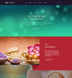 58680 Beauty Website Templates