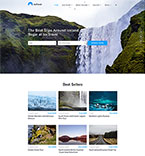 58702 Travel Website Templates