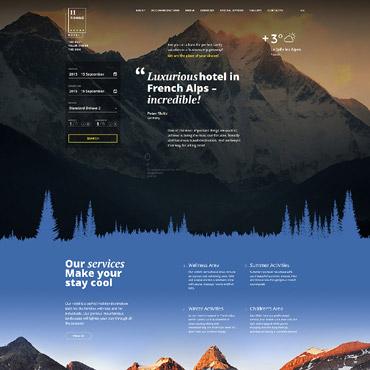 Homepage für Berghotel erstellen lassen