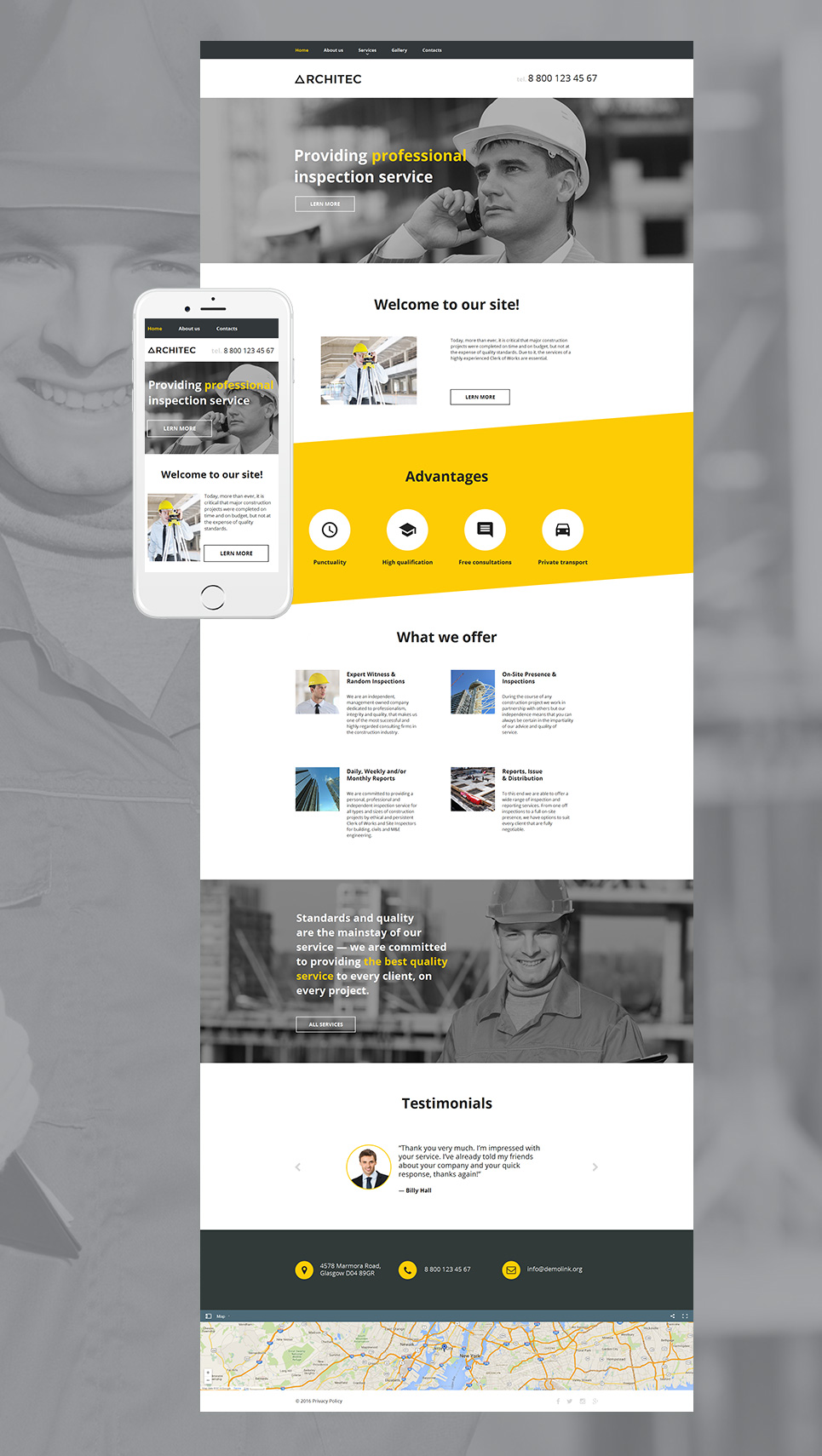 MotoCMS HTML Шаблон #58744 из категории Архитектура - image