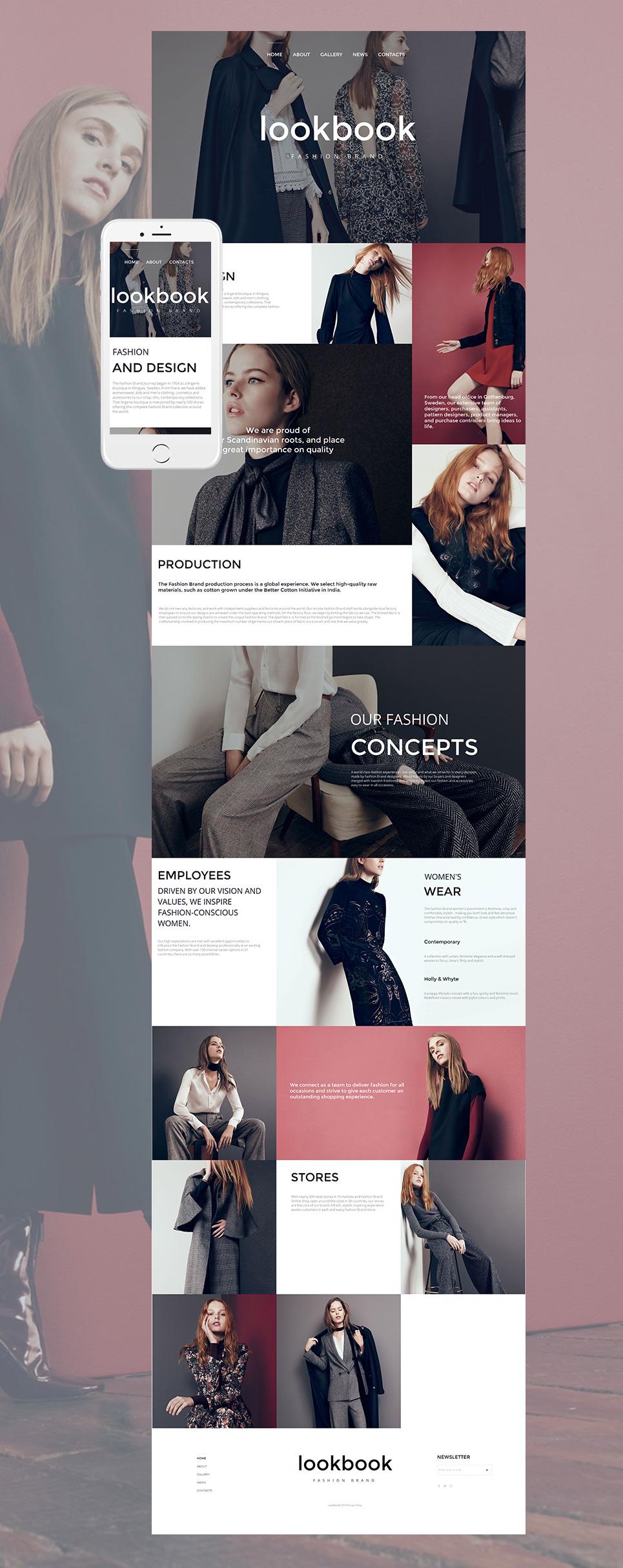 MotoCMS HTML Plantilla #58745 de categoría Moda y Belleza - image